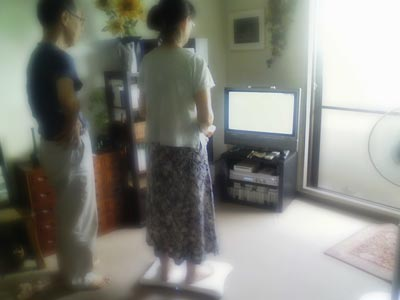 Wiiと両親
